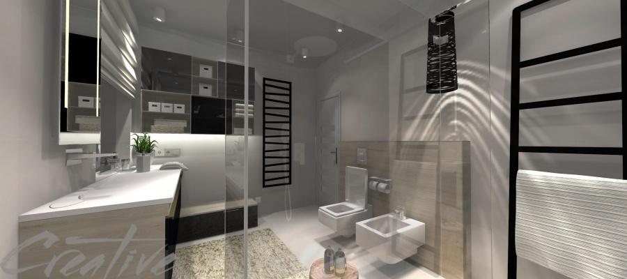 Łazienka gospodarzy domu